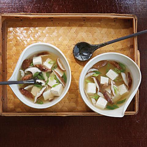 Tofu And Mushroom Miso Soup Recipes — Dishmaps