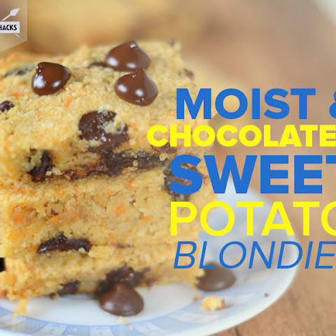 Chocolate Chip Sweet Potato BlondiesRecipe by Heather Resler