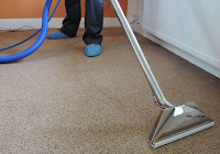 vacuuming carpets
