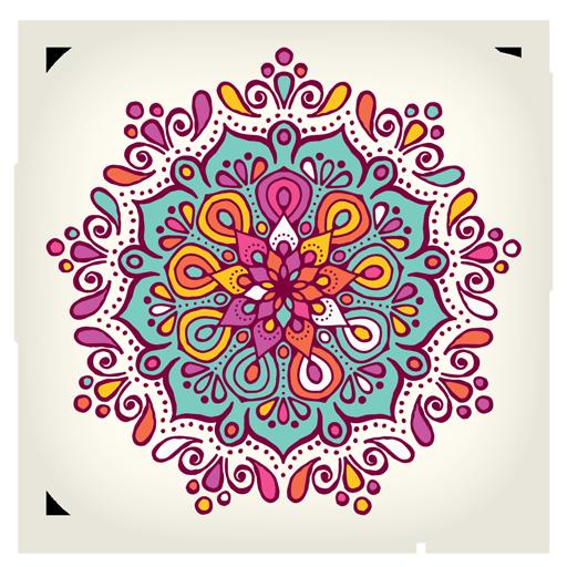 Zen Anti Stress Coloring Pages (app)