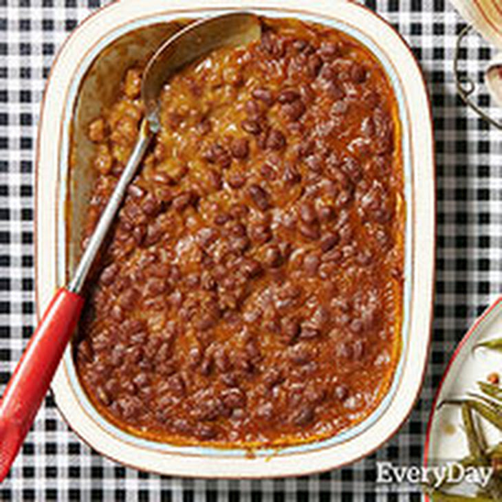 Cider Baked Beans Recipe — Dishmaps