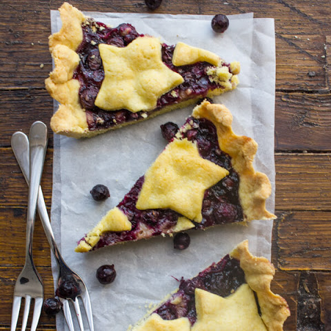 Easy Italian Blueberry Crostata