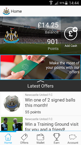 Newcastle United F.C. Rewards APK