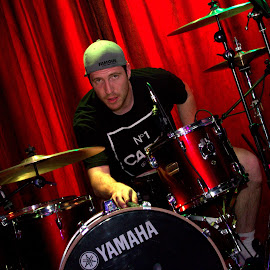 Drummer by Paul Herman - People Musicians & Entertainers ( drummer )