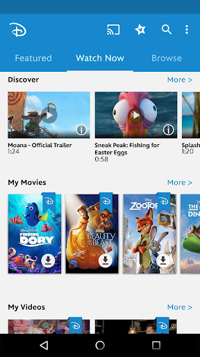 Disney Movies Anywhere For PC
