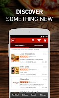 Screenshot of EAT24 Food Delivery & Takeout