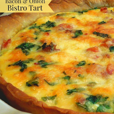 Bacon And Onion Bistro Tart