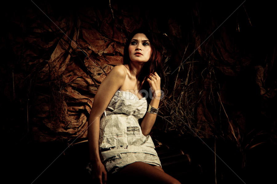 Woman 212 by Fajar  Kurniawan - People Fine Art ( fashion, model, woman )