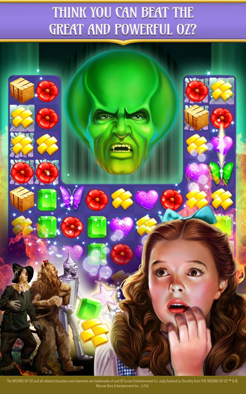 The Wizard of Oz Magic Match 3 Screenshot 6