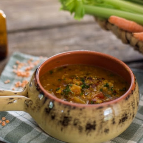 Moroccan Red Lentil Soup