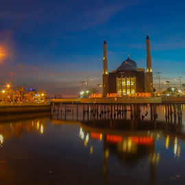 Floating mosque by Indrawan Ekomurtomo - Buildings & Architecture Places of Worship