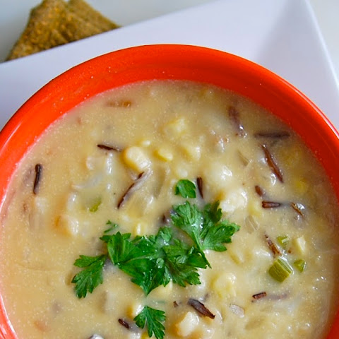 Wild Rice and Corn Chowder