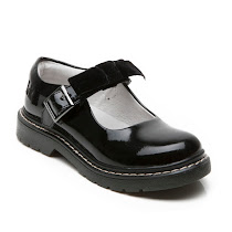 Lelli Kelly Patent Buckle Shoe SCHOOL