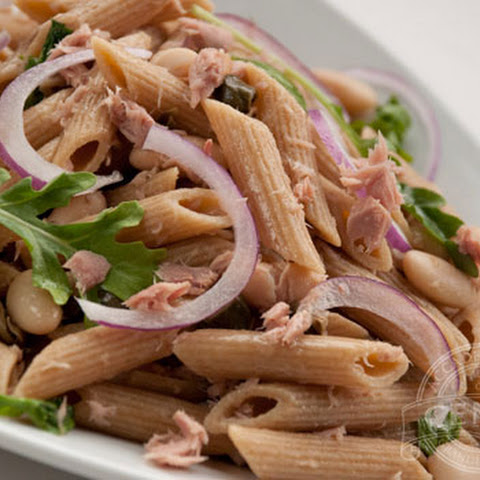 Whole Grain Penne with Tuna Salad