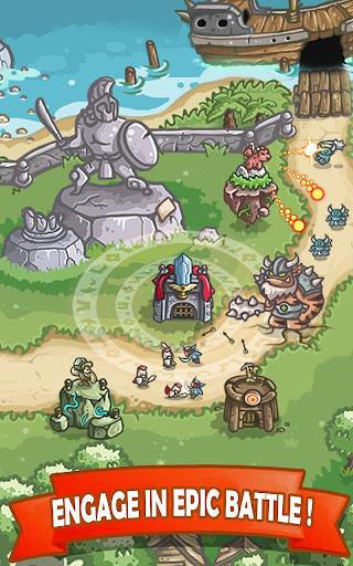 Kingdom Defense 2 [Mod] Apk - Kiếm sĩ anh hùng