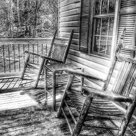 Grandma's Porch by Diane Merz - Digital Art Things (  )