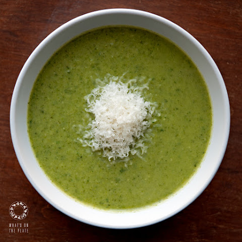Beautifully Green Broccoli Soup