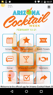 Arizona Cocktail Week - screenshot