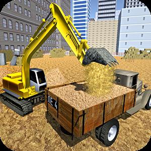 Cover art Sand Excavator Crane Simulator