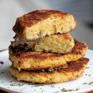 Potato Cake Stacks