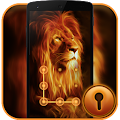App Fire Lion CM Security Theme apk for kindle fire