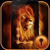 Download Fire Lion CM Security Theme APK