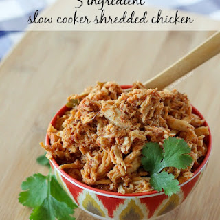 Easy Slow Cooker Shredded Chicken for Tacos