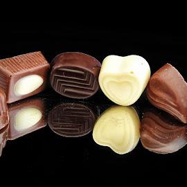 Chocolate by Ana Paula Filipe - Food & Drink Candy & Dessert ( chocolate, candy, choco, food, six )