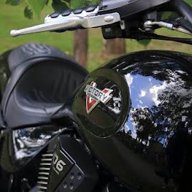 by Antonio Adriano - Transportation Motorcycles ( #victorybikes )