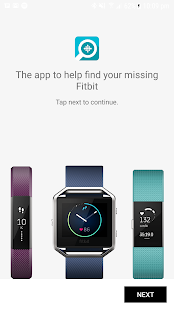 Finder for Fitbit Fitness app screenshot for Android