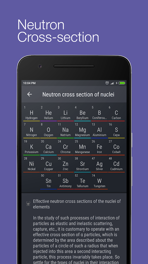 Periodic Table 2016 Pro Screenshot 5