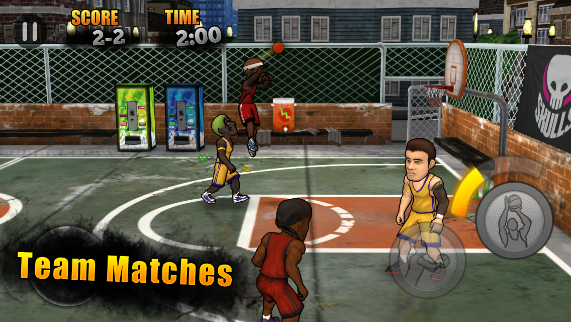 Jam League Basketball Screenshot 1