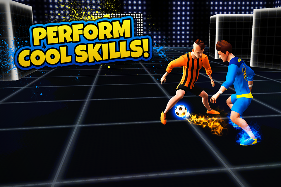 SkillTwins Football Game Screenshot 1