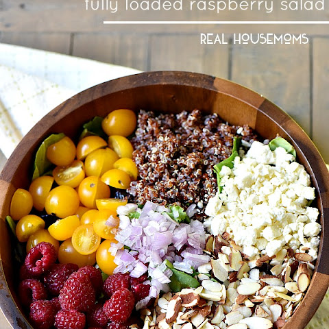 Fully Loaded Raspberry Salad