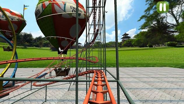 Crazy Roller Coaster Simulator apk screenshot