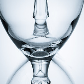 Glasses by Susan Van Wyk - Food & Drink Alcohol & Drinks ( macro, clean, glasses, black and white, transparent )