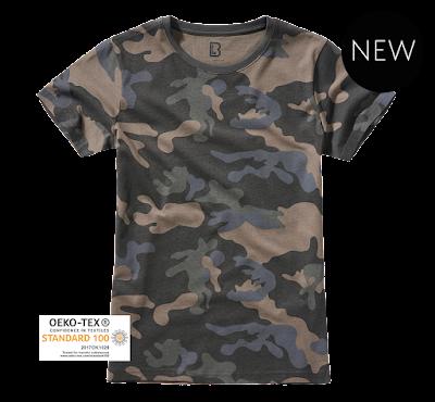 Brandit Ladies T-Shirt - Brandit - камуфляж тёмный