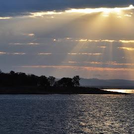 Dawn, Lake Kariba by Ian Harvey-Brown - Landscapes Sunsets & Sunrises