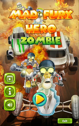 Mad Fury Hero Zombie