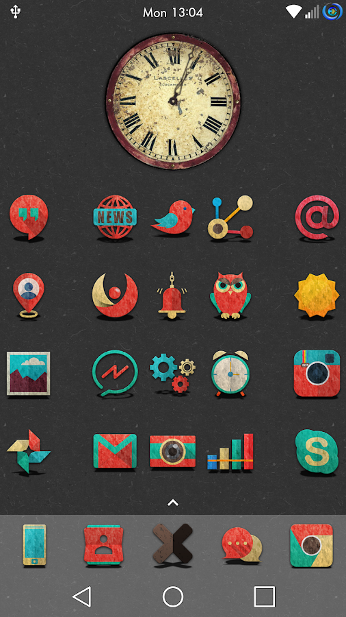 Retron-UI Icon Pack Screenshot