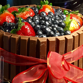 Fruits and Chocolate Cake by Lope Piamonte Jr - Food & Drink Candy & Dessert (  )