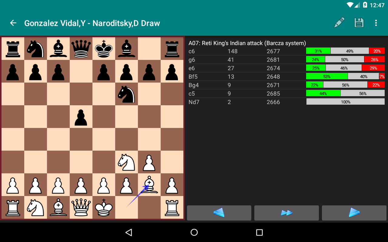 Perfect Chess Database Screenshot 18