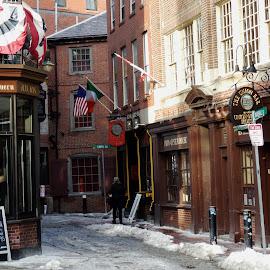 Oldest Pub by Don Bates - Buildings & Architecture Public & Historical ( tourist, alley. pub, boston, public places, historic )