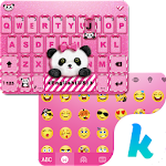 Lovely Panda Kika Emoji Theme For PC / Windows / MAC