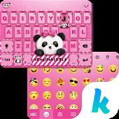 Download Lovely Panda Kika Emoji Theme lite Kika Theme Studio APK