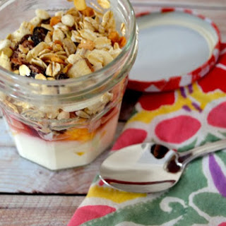 Here's how I make my Yogurt Parfait with Fruit & Granola