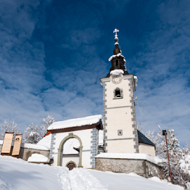 by Aleksandra Jereb - Buildings & Architecture Places of Worship ( sneg, mountains, winter, traveltheworld )