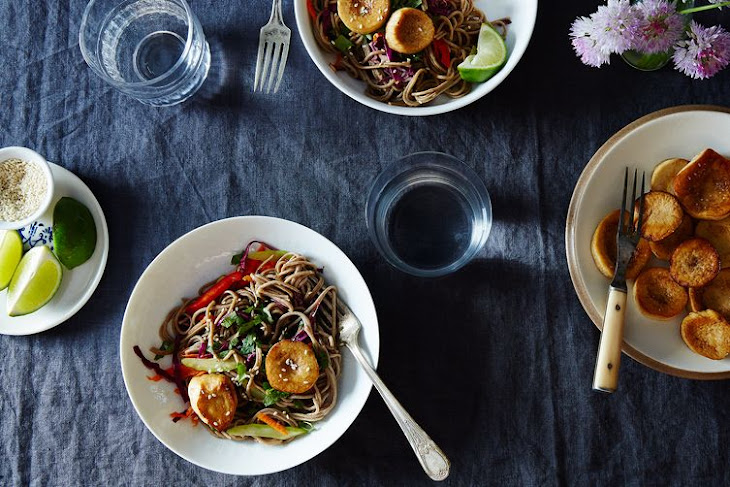 Mushroom And Sesame Noodles Recipes — Dishmaps