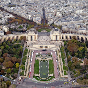 chaillot by Herry Wibisono - Buildings & Architecture Public & Historical ( paleis de chaillot, paris, trocadero, eiffel, architecture )