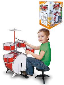 """Игровой набор серии """"Для творчества"""", ударная установка-барабан, Red"""